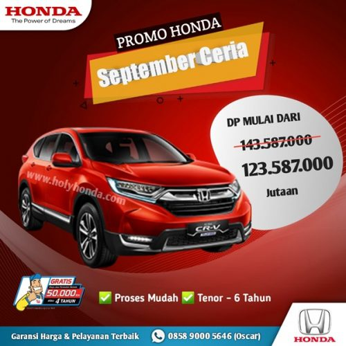 Promo Honda CR-V Turbo