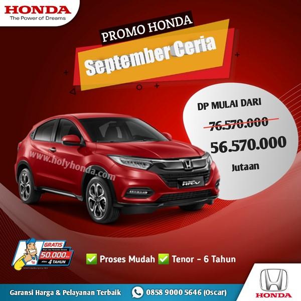 Promo Honda HR-V 2020