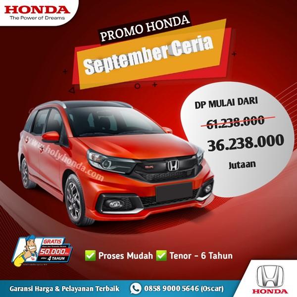 Promo Honda Mobilio 2021
