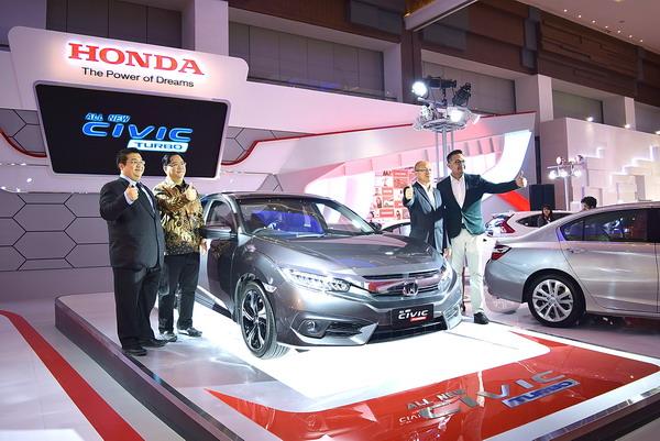 Bulan Agustus 2016 Penjualan Honda Meningkat 85 %