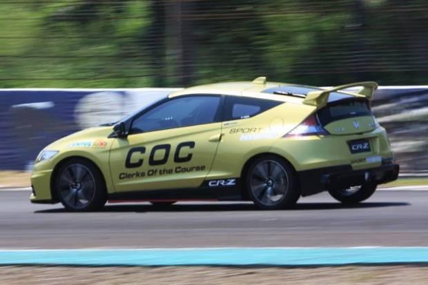 Honda CR-Z Mobil Official Car di Ajang ARRC