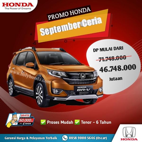 Promo Honda BRV 2020