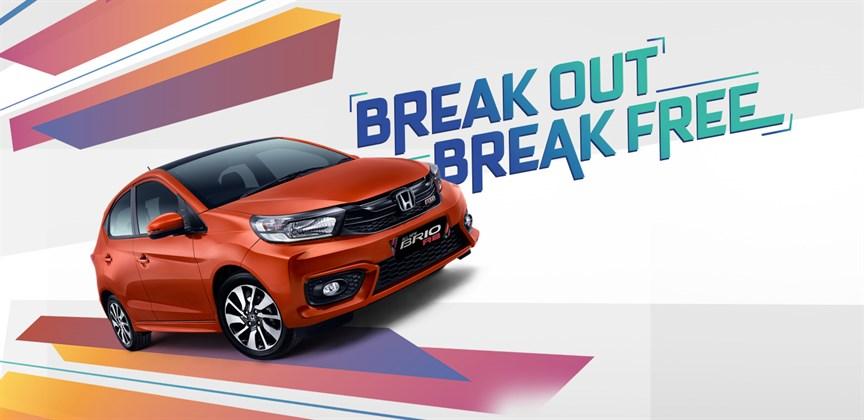 Sebanyak 50% Penjualan Honda Bulan November Di Sumbang Oleh All New Honda Brio