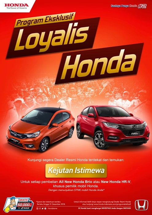 Program Eksklusif Honda