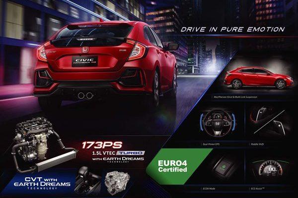 Fitur Honda Civic Hatchback RS