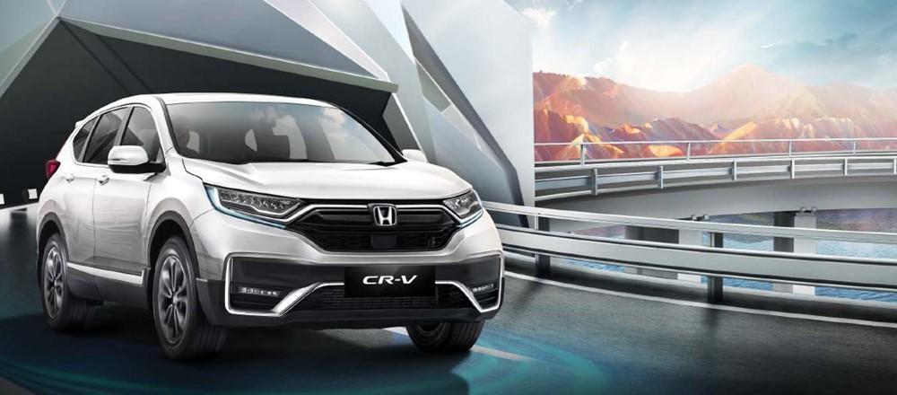 New Honda CR-V turbo